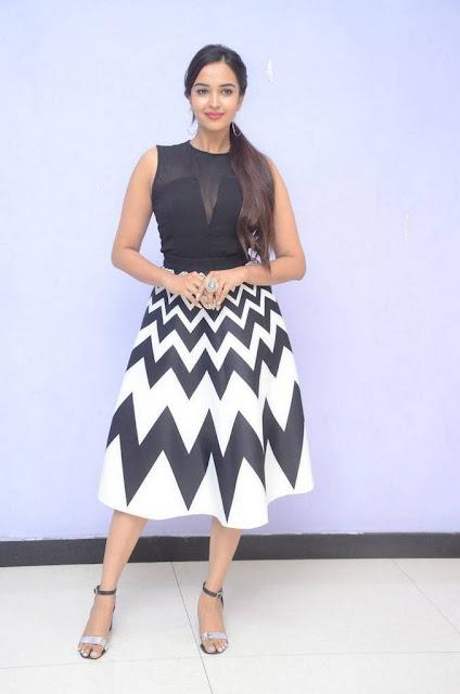 Pujita Ponnada At Telugu Movie Teaser Launch Stills Actress Trend