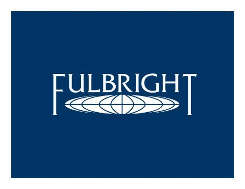 FULBRIGHT SCHOLARSHIP FOR MASTER'S AND PhD FOR TANZANIANS IN USA