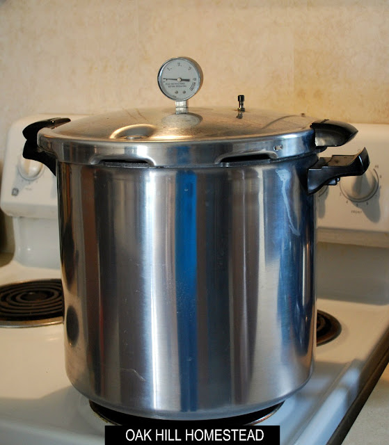 When to use a pressure canner.
