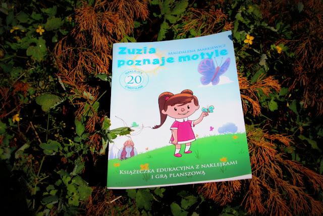 """""""Zuzia poznaje motyle"""" - Magdalena Markiewicz"""