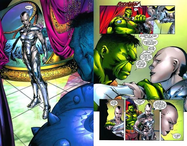 caiera hulk love story marvel