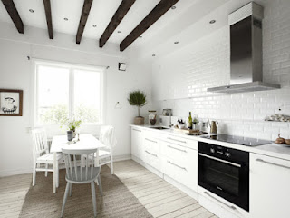 How to make apartment with traditional details