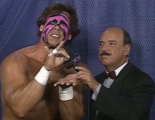 WCW - The Great American Bash 1996 - Sting cut a promo on Steven Regal, calling Regal gay