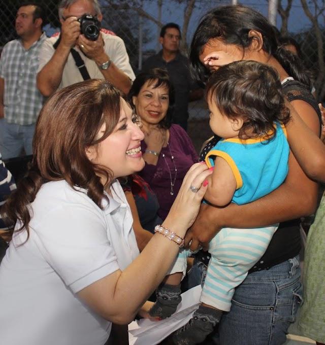 Celia Rivas lleva festivales por el Día del Niño