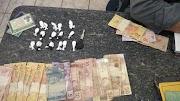 Polícia Militar prende dois homens com drogas em Trizidela do Vale.