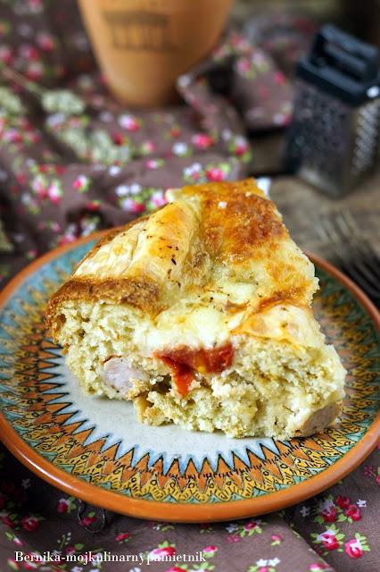 zapiekanka, muffinki, ciasto, kielbaski, tarta, bernika, kulinarny pamietnik, obiad