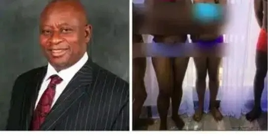 BREAKING!!Minister allegedly strips hotel staff naked{See Details}