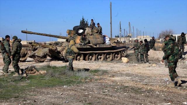 Ejército sirio expulsa a Al-Qaeda de 7 aldeas en Hama