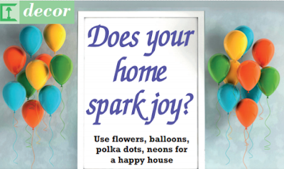 Does your home spark joy?