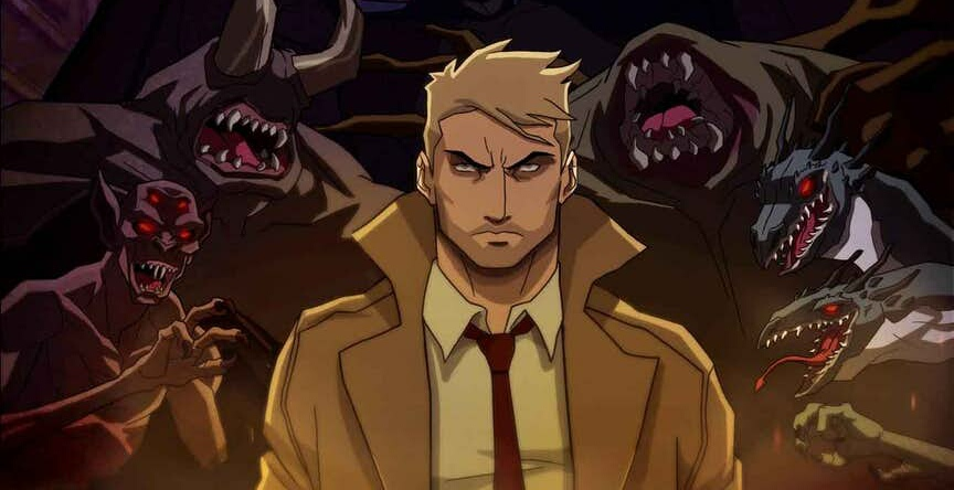 Constantine Animated Series Key Visual Revealed.