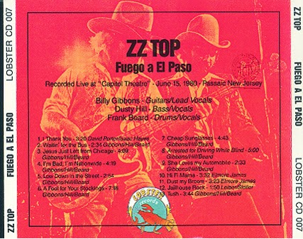Diamonds and Rust: ZZ TOP - Fuego