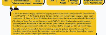 Press Release COVID-19 Tarakan 26 Maret 2020