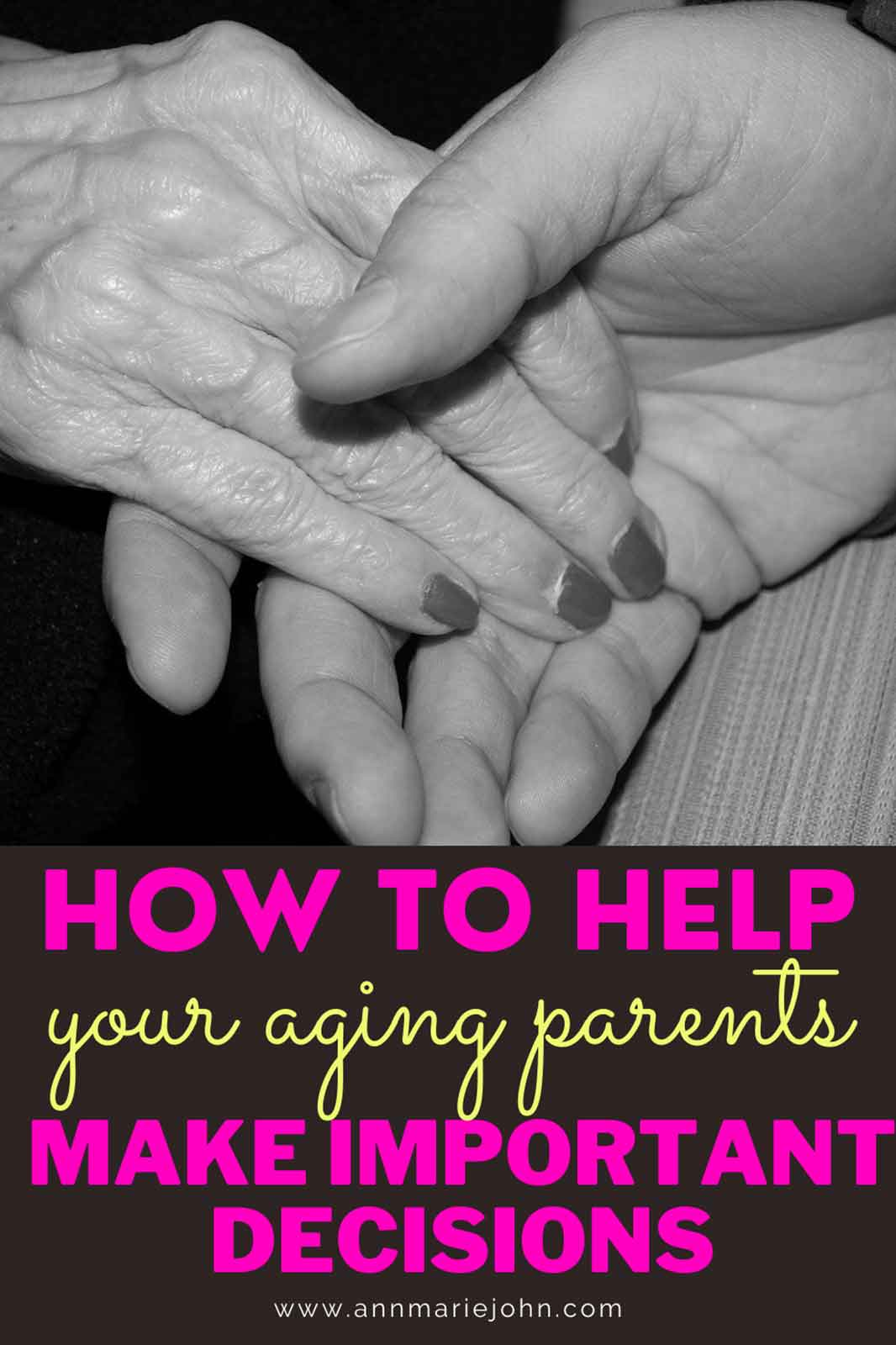 Helping Your Aging Parents Make Important Decisions