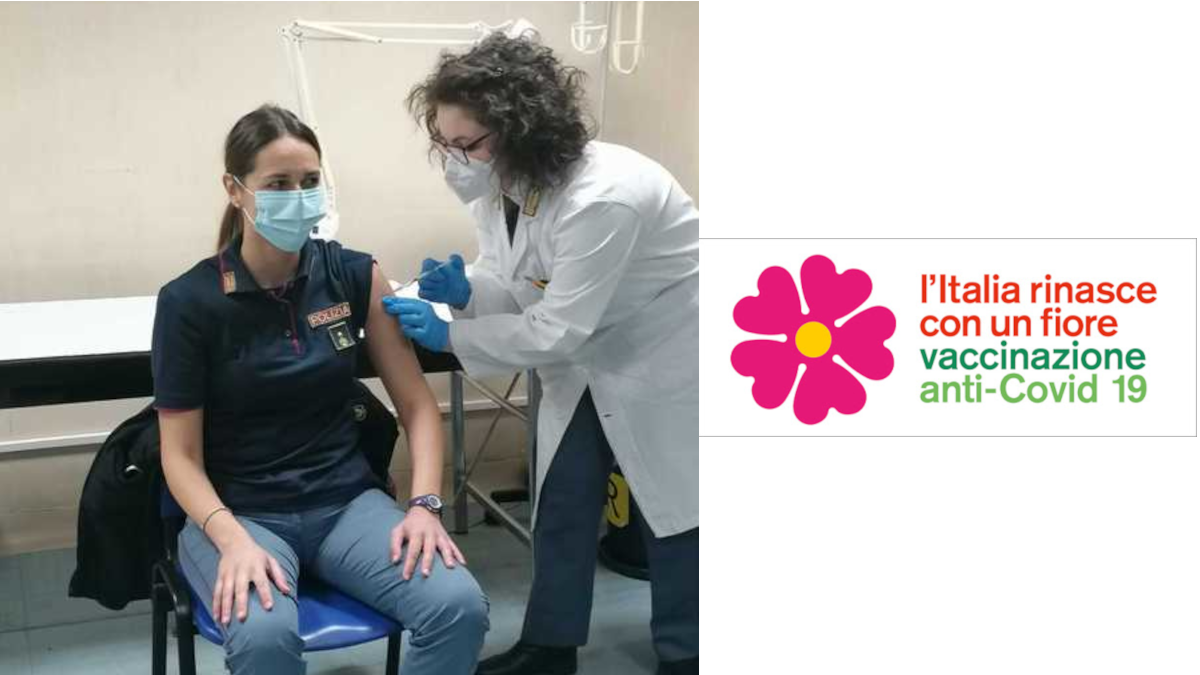 Vaccinazione Polizia Catania