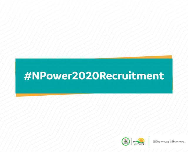 N-Power Registration Portal 2020 – https://npower.fmhds.gov.ng/signup