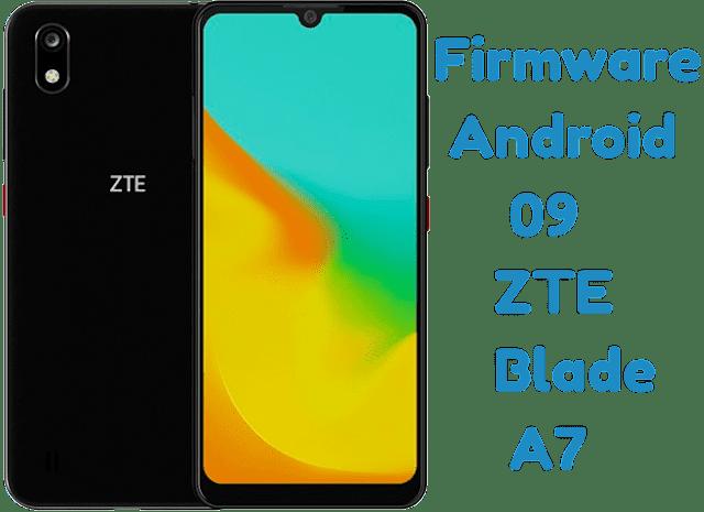 تفليش وتحديث جهاز  Stock Firmware Android 09 ZTE Blade A7
