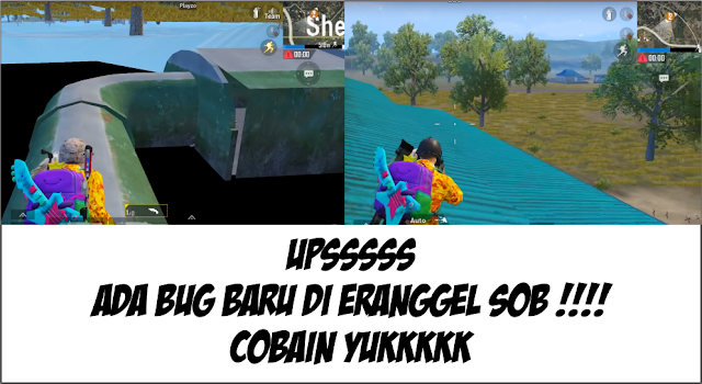 Bug TERBARU Erangel PUBG Mobile, sedap sedap gimana gitu