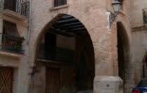 Calaceite, Calasseit, plaza, portal, arco