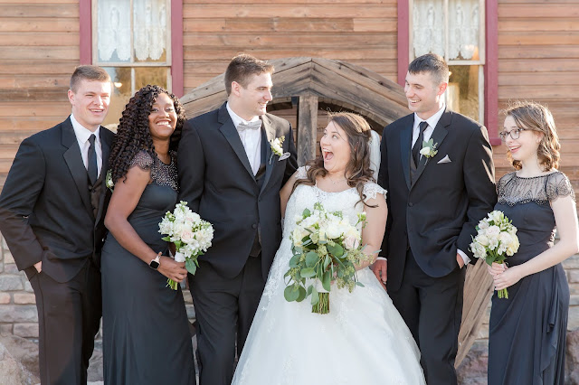 Shenandoah Mill Gilbert, AZ Wedding Party by Micah Carling Photography