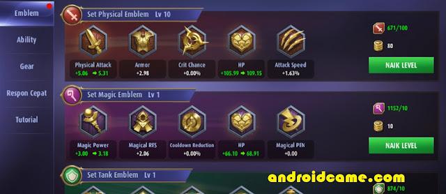 5 Cara Ampuh Memilih Emblem dan Talent Mobile Legends, Agar Naik Cepat Naik Level