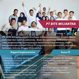 Lowongan Kerja PT BITS Miliartha