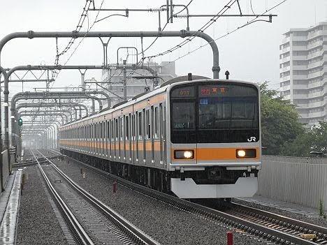 【ダイヤ改正で新登場!】209系1000番台の快速 東京行き