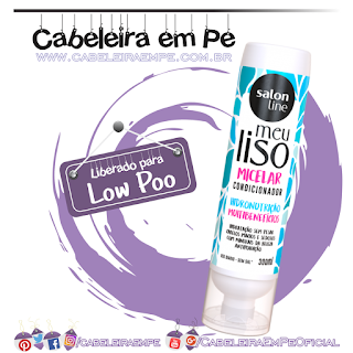 Condicionador Meu Liso Micelar - Salon Line (Low Poo)
