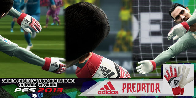 Adidas Predator 18 Pro Cold Blooded Gloves PES 2013