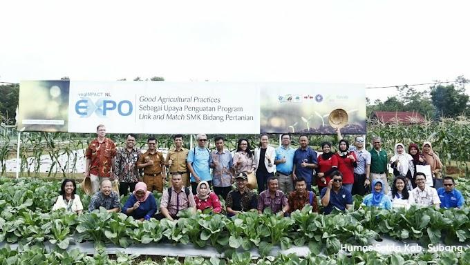 Wabup Subang Hadiri Gelar Teknologi Hortikultura Dan Transfer Pengetahuan