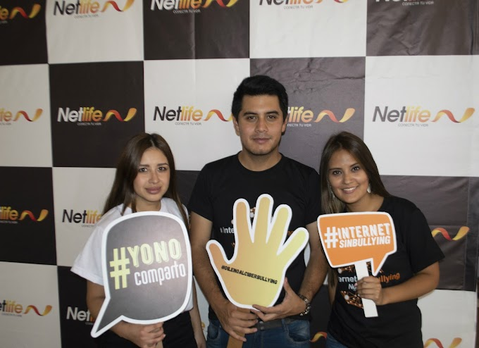 Netlife lanza campaña #internetsinbullying