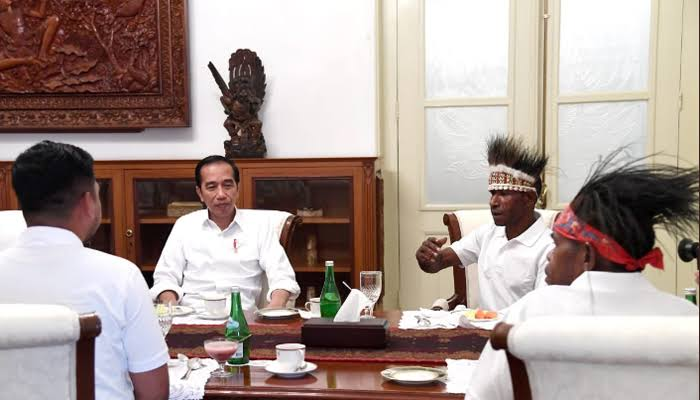 Yang Ganjil dari Pertemuan Tokoh Papua di Istana