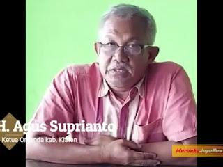 Ketua Organda Kab Klaten Dukung Calon Tunggal Kapolri Komjen Pol Listyo Sigit Prabow