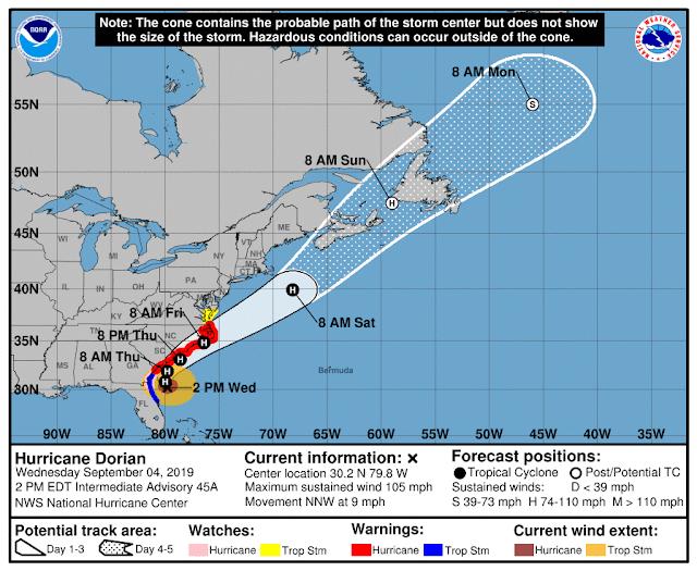 hurricane dorian noaa