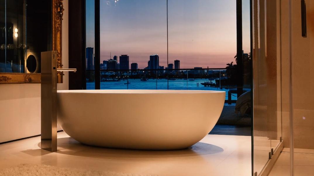 71 Interior Photos vs. 212 W Dilido Dr, Miami Beach, FL Ultra Luxury Modern Mansion Tourr