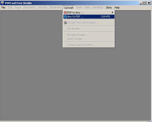 Convertir PowerPoint a PDF con PDFCool Free Studio