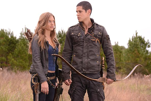 Interview with JD Pardo and Tracy Spiridakos   Revolution Is On Revolution   Jason and Charlie