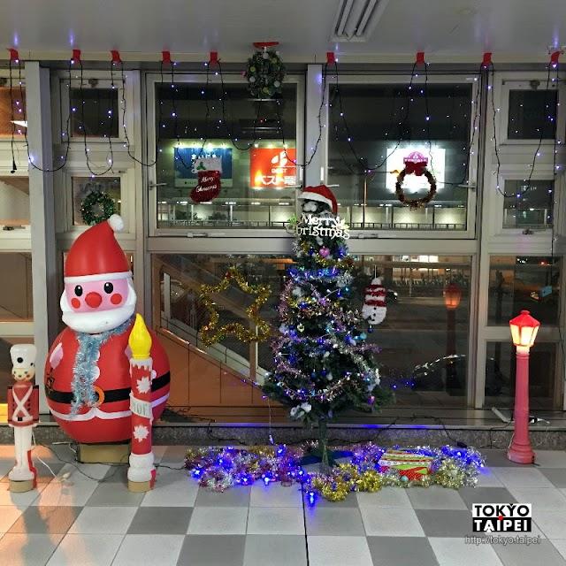 【聖誕裝飾車站大賽】沖繩單軌電車15站聖誕樹比美
