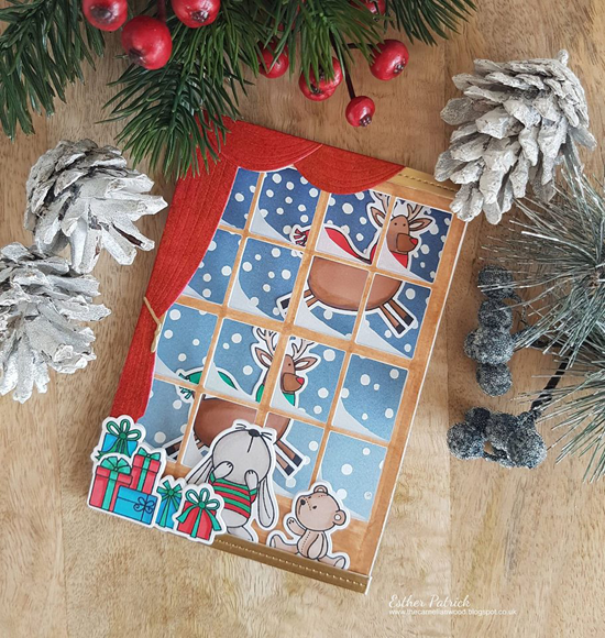 Merry Everything and Snuggle Bunnies stamp sets and Die-namics - Esther Patrick #mftstamps