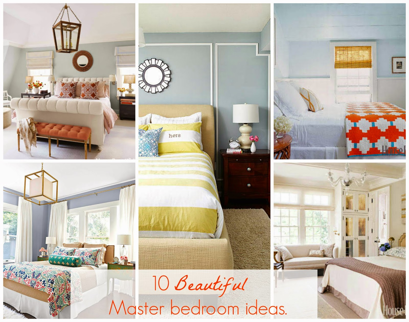 Freshly Completed: 10 BEAUTIFUL Master Bedroom IDEAS