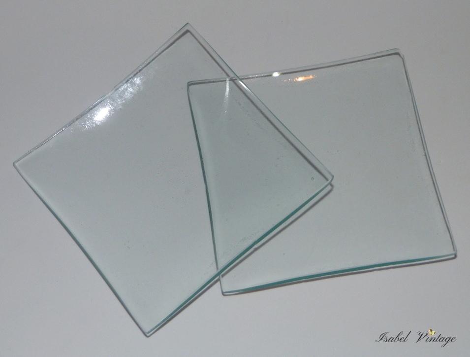 Decoupage en bandejas de cristal isabel vintage - Bandejas de cristal ...