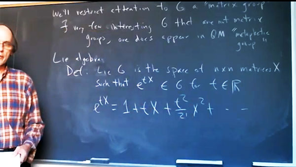 Lie groups and Lie algebra & the Quantum (Source: Peter Woit, Columbia U Quantum Mechanics class)