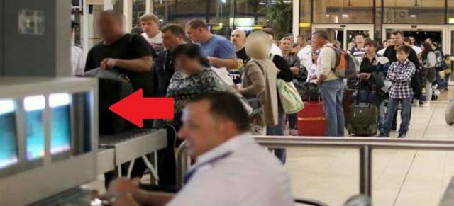 واقعة غريبه| أمن مطار القاهرة يشتبه في شنطة راكب ذاهب لأمريكا وعند تفتيشها يكتشفون شئ اغرب من الخيال ستصدم !