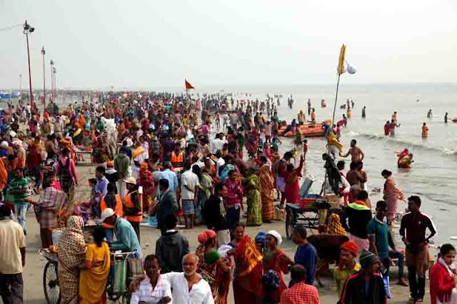 GangaSagar Sea Beach