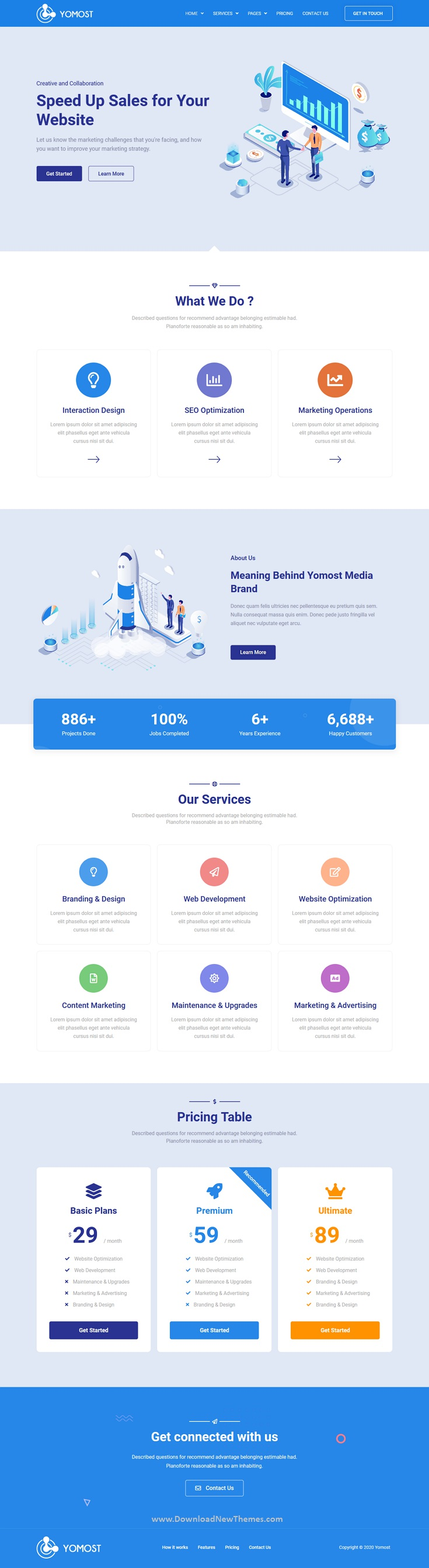Business Services Elementor Template Kit