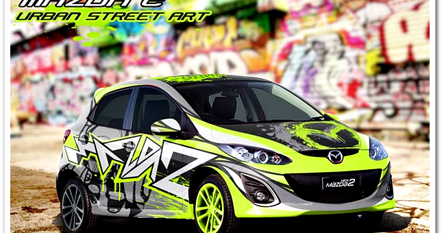 CUTTING STICKER KIA RIO | King Sticker bali