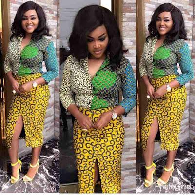 Latest Ankara skirt and blouse styles