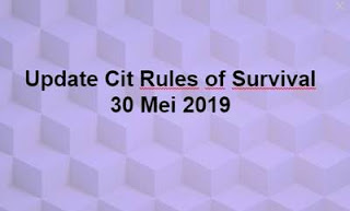 Link Download File Cheats Rules of Survival 30 Mei 2019