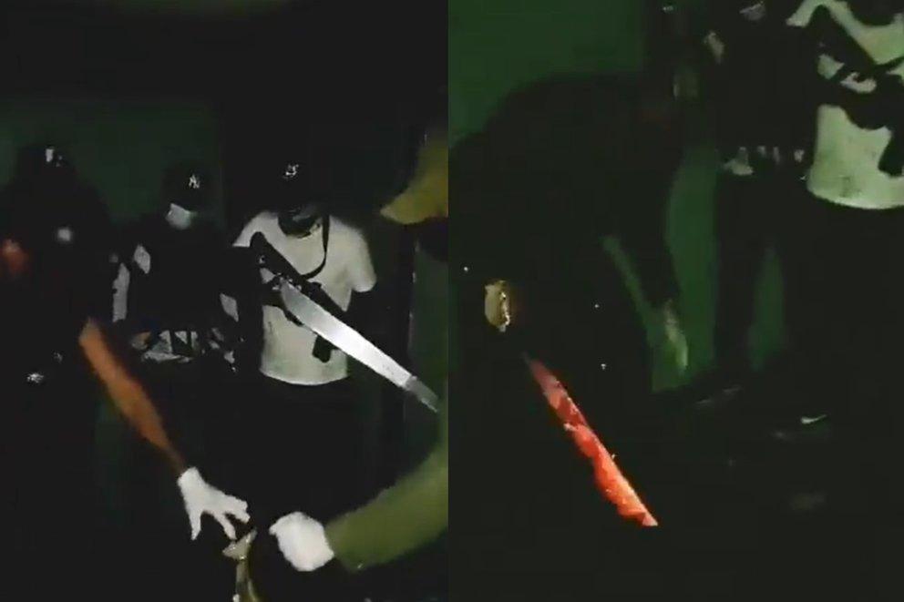 Video: Brutalidad del narco en Guanajuato: sicarios del CJNG graban decapitación y abandonan cadáver en León