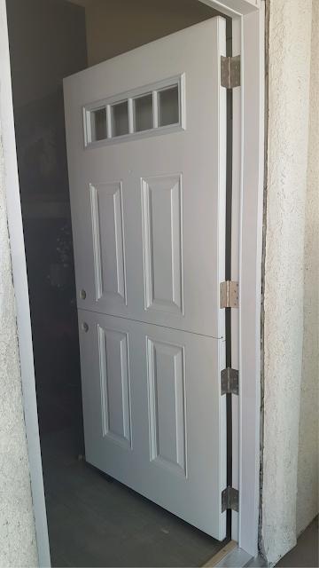 The Dutch Door Already Looks Great!