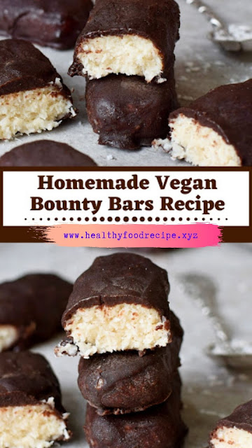 Homemade Vegan Bounty Bars Recipe